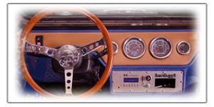 Τιμόνι Ανοξείδωτο Vintage Buggy